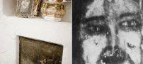 ظاهر شدن چهرههای شیطانی در کف یک آشپزخانه + عکس (نیروهای ماوراء الطبیعه)