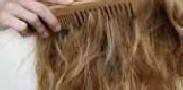 شانه کردن مو