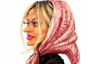 طنز باحال روسری خانم ها