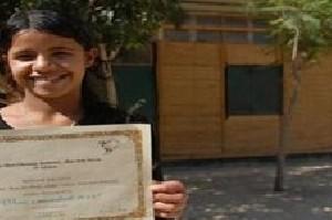 کار جالب دختر فلسطینی