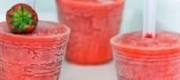 طرز تهیه بستنی یخی موز و تمشک