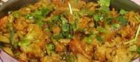 پخت غذای رژیمی هندی