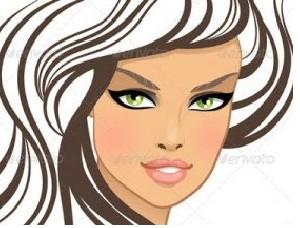 هنگام آرایش زیباتر به نظر برسی