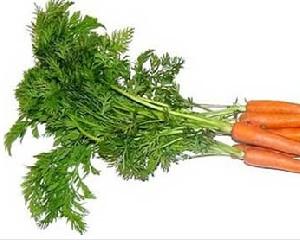 برگ های هویج برای سلامتی