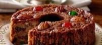 نحوه ی پخت کیک میوه ای سریع