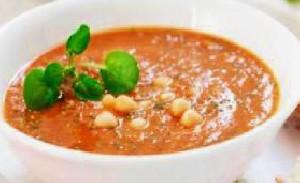 سوپ نخود شام بسیار سبک