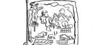 طرحی نمادین از نقوش درفش شهداد