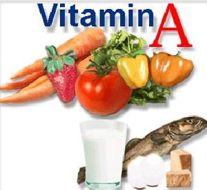 کمبود ویتامین A با عوارض پوستی