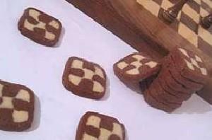 طرز تهیه شیرینی شطرنجی