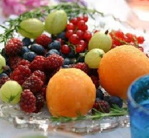 خوردن برخی میوه  و سبزی ها
