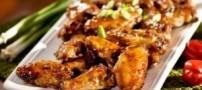 بال مرغ کارائیب خوشمزه