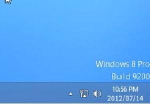 نمایش نسخه در دسکتاپ در ویندوز 8