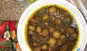 طرز تهیه خورش گوجه سبز