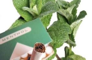 استعمال سیگار نعنایی یا «منتول»