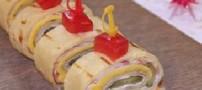 کرپ با ژامبون و طرز پخت آن