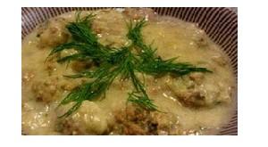 طبخ کوفته یونانی و طرز تهیه آن