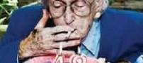 پیری زودرس پوست بخاطر مصرف سیگار