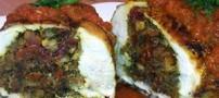 سینه مرغ پر شده بسیار خوشمزه