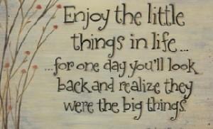 جایگاه چیزهای كوچك در زندگی