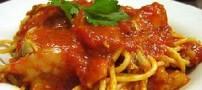 اسپاگتی به سبک مدرن و جدید