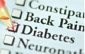 یک عارضه شایع در دیابت