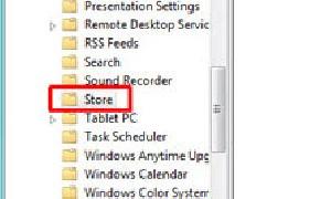 غیرفعال کردن Windows Store