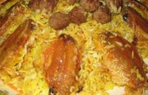 کلم پلوی شیرازی به سبک شیرازی