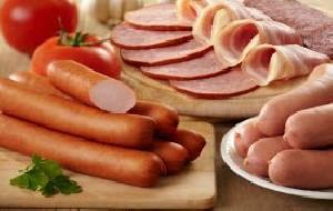 مصرف گوشتهای فرآوری شده