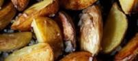 طرز تهیه سیبزمینی یونانی