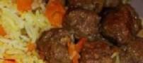هویج پلو با گوشت را درست کنید
