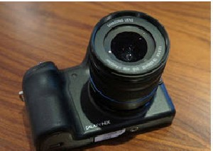 دوربین گلکسی NX سامسونگ