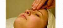 حرکت نرم برای ماساژ پوست صورت