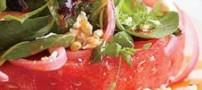 طرز تهیه سالاد استیک هندوانه