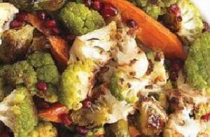 سبزیجات کبابی را امتحان کنید