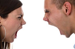 وقتی دونفر از یکدیگر عصبانی هستند