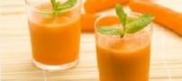 چرا آب هویج را با بستنی قاطی میکنیم؟