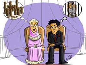 حکم زندانی کردن همسر به خاطر مهریه