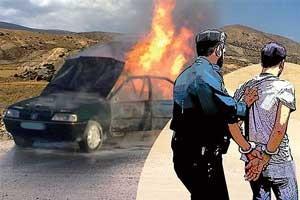 صحنه سازی برای قتل دوست در بیابان