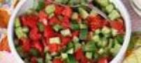 از مصرف سالاد شیرازی پرهیز کنید!!