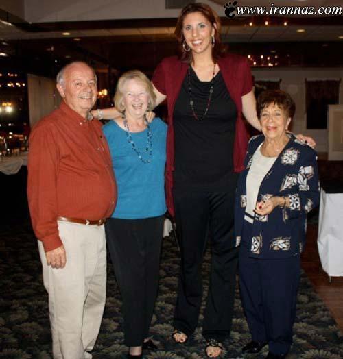 عکس های جالب از زندگی بلند قد ترین دختران جهان