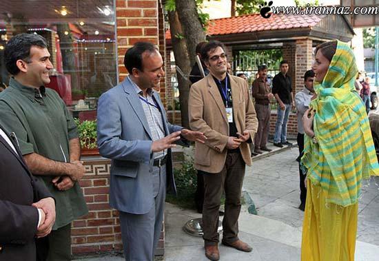 تیپ جدید و دیدنی الناز شاکردوست در مراسم رالی