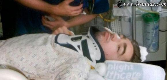 این پسر 29 ساله تاکنون 9 بار مرگ را تجربه کرده است!