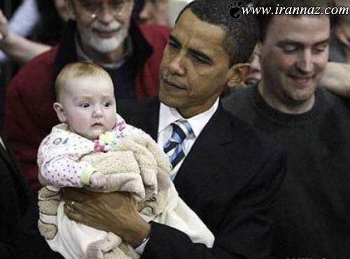 بچه داری خنده دار و جالب از نوع سیاستمداران غربی