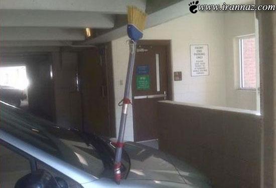 عکس هایی خنده دار از مرکز تیونینگ اتومبیل غضنفر