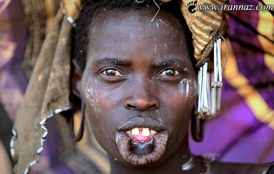 عکس هایی از چهره بسیار عجیب مردمان یک سرزمین