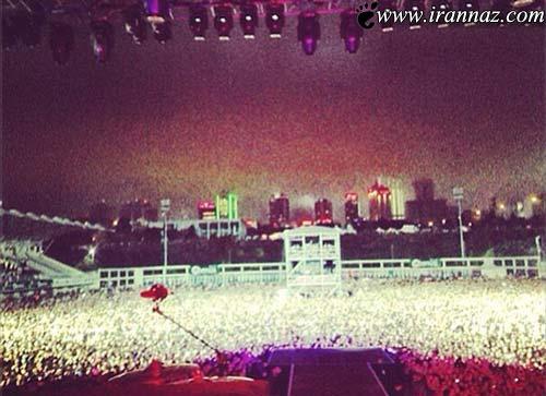 ناتمامی کنسرت جاستین بیبر به احترام اذان! (+عکس)