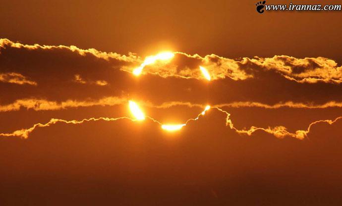 عکس از زیبا و شگفت انگیزترین طلوع خورشید در جهان