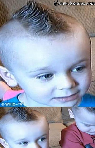اخراج این دانش آموز از مدرسه بخاطر مدل موی عجیبش