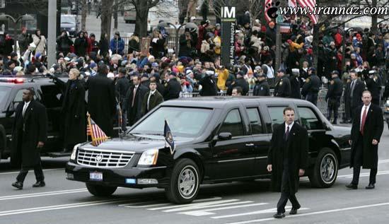 ویژگیهای بسیار جالب و باورنکردنی ماشین رئیس جمهور