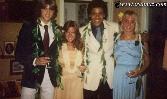 نامه عاشقانه اوباما به دوست دختر رفیق خود! (عکس)